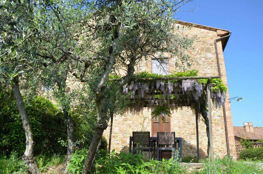 Spina, Rigone in Chianti, agriturismo e relax con piscina in Toscana